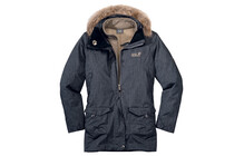 Jack Wolfskin Wave Hill Parka Women grey heather